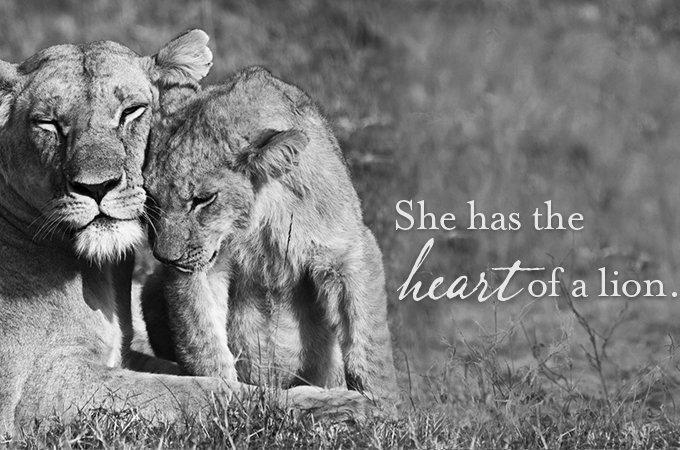 To the mother who lives in your heart, and can't wait to get out.