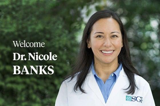 SGF Announces Reproductive Endocrinologist Nicole Banks, M.D., has Joined SGF Jones Institute